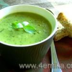 Итальянский суп из цуккини