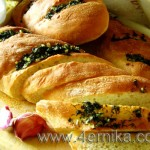 Мини-багеты с чесноком