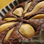 Шоколадный тарт с грушами от Джейми Оливера