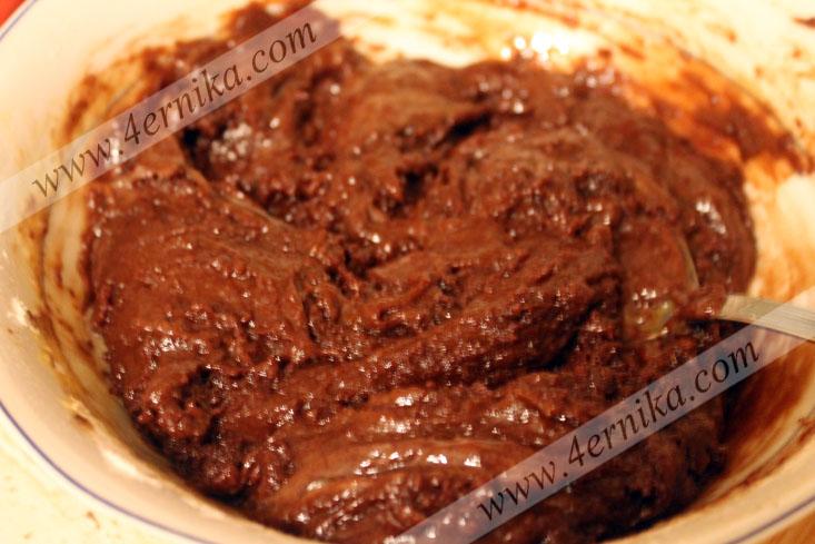 Шоколадный кекс с цуккини