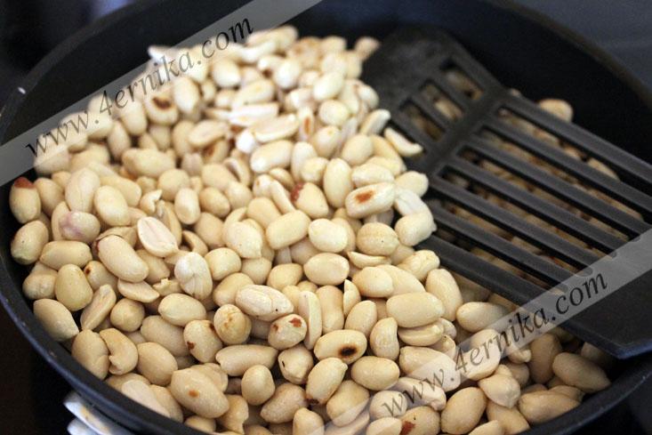 Халва из арахиса