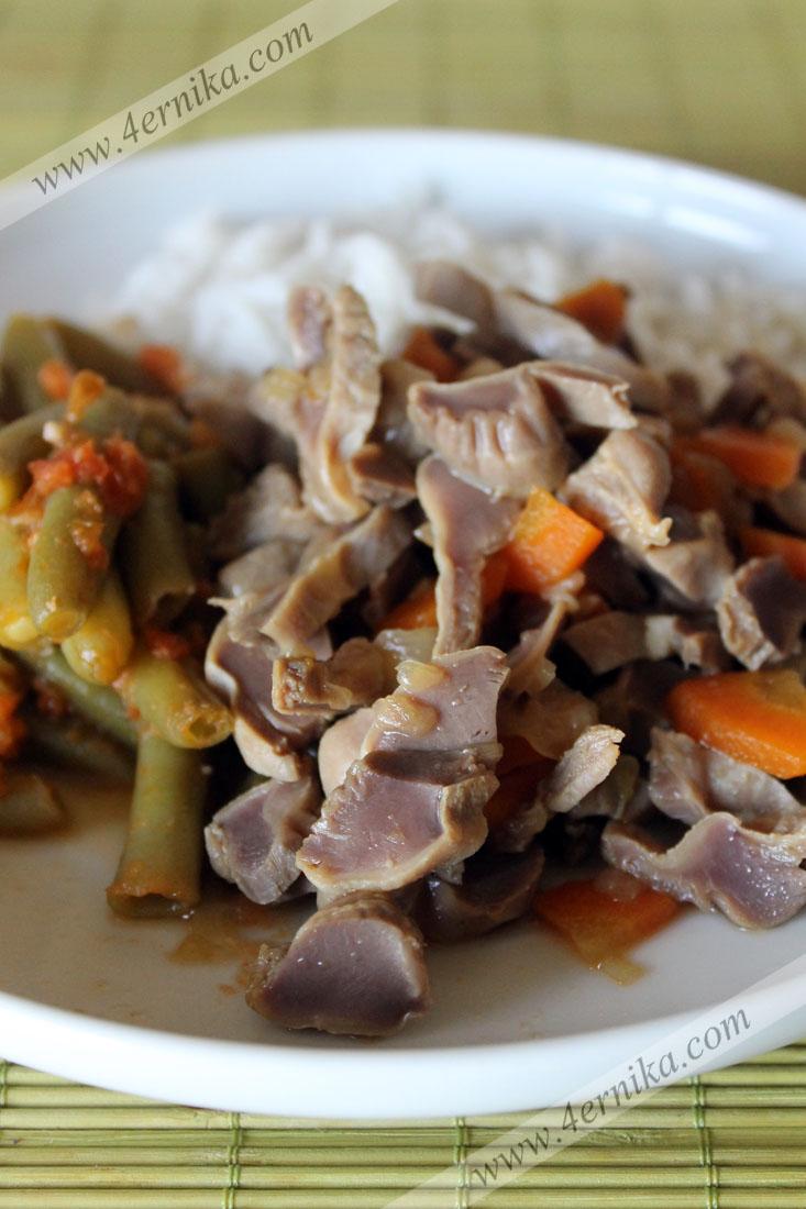 желудочки по-китайски