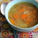 Куриный суп с вермишелью