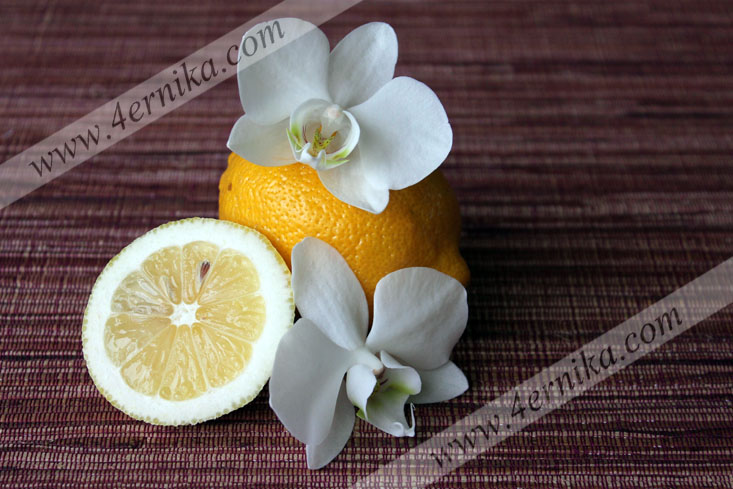 Лимонное желе