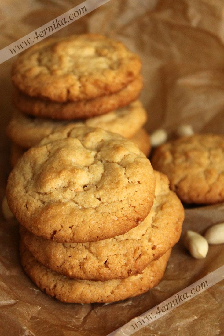 Печенье с арахисовым маслом