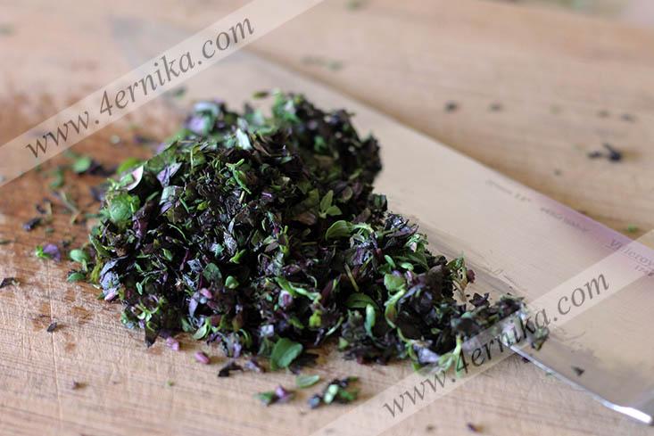 Творожные маффины с травами