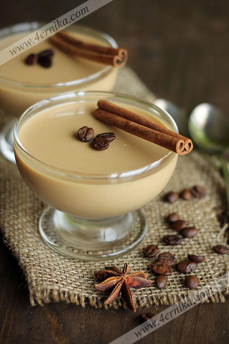 Кофейная панакотта на йогурте